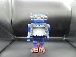 Horikawa vintage NEW TV ROBOT Japan plastic battery operated space toy with box