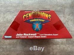 Kenner Centurions Vintage 1986 JAKE ROCKWELL MISB New in Sealed Box