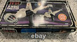 Kenner Star Wars Vintage ROTJ B-Wing Fighter Withbox And Instructions