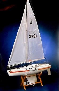 Kyosho Fairwind Vintage Model RC Yacht Kit 1978 Boxed, Complete, Unbuilt VGC