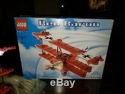 LEGO 10024 Red Baron (LEGO Creator Expert) 100% complete rare retired