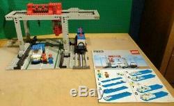 LEGO 12V 7823 Container Crane Depot 12 Volt Train Railway Track Eisenbahn