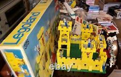 LEGO 375/6075 Yellow Castle 100% Complete 375 BOX Legoland Vintage 1978