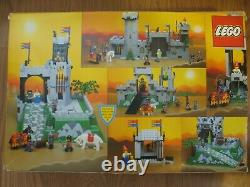 LEGO Castle 6081 King's Mountain Fortress 100% Complete with Box, Inst & Guide