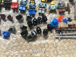 LEGO Castle Vintage/Modern Bundle Spares Minifigures Horses Shields Weapons