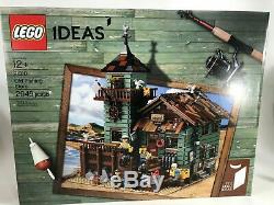 LEGO Ideas 21310 Old Fishing Store New in Factory Sealed Box