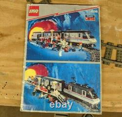 LEGO Legend Metroliner 9V 10001 Nearly Complete With Box, Tracks, & Instructions