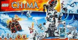 LEGO Legends Of CHIMA 70147 Sir Fangar's Ice Fortress New In Box #70147