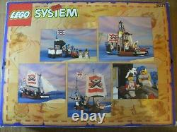 LEGO Pirates 6271 Imperial Flagship 100% Complete with Box & Instructions