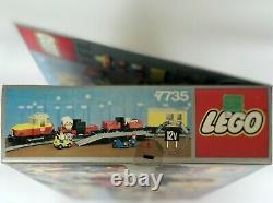 LEGO Railway 7735 Freight Train Set NEW SEALED Vintage RARE Legoland from 1985