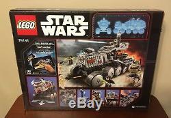 LEGO Star Wars Clone Turbo Tank 75151, Brand New Retired