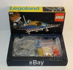 LEGO Vintage Classic Space 918 One Man Spaceship Boxed