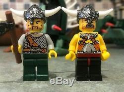 LEGO set 7018 Viking Ship challenges the Midgard Serpent Vikings