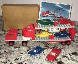 Lego #157 -Vintage Transport Set Sears Exclusive 1970 original box & extras