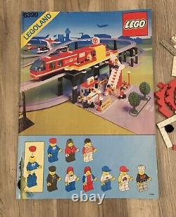 Lego 6399 Airport Shuttle Set (1990) With Box, Electric, Incomplete