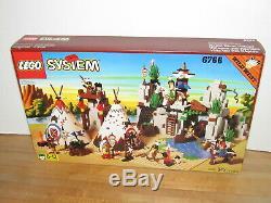 Lego 6766 Wild West Rapid River Village Misb Mib New Sealed