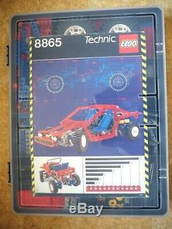 Lego 8865 Test Car Clean and 100% complete