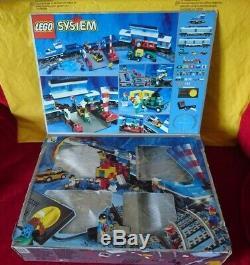 Lego 9v Express Train 4561 Job Lot (1999) Used Parts Includes 9 Manuals + Box
