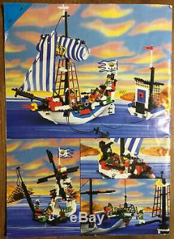 Lego Pirates 6280 Armada Flagship Complete W Instructions & Box