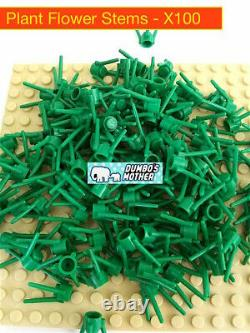 Lego Plant Flower Stem Stalk Grass Landscaping Foliage City NEW X100