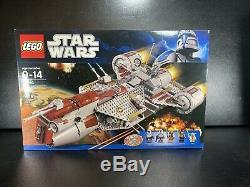 Lego Star Wars 7964 Republic Frigate RARE 2011 Set New in Near Mint Sealed Box
