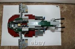 Lego Star Wars 8097 Slave I 100% Complete inc 4 Mini-figs Box & Instructions