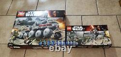 Lego Star Wars Clone Turbo Tank 75151 and Homing Spider Droid 75142
