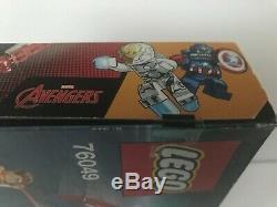 Lego Super Heroes Marvel Avenjet 76049 Thanos Infinity War Brand New Sealed +bag