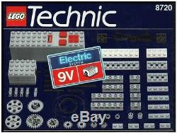 Lego Technic 8720 9 Volt Motor Supplemental Set New In Sealed Box