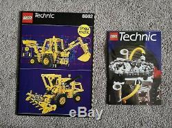 Lego Technic 8862 Backhoe Vintage 1989 Brand New OPEN BOX Very Rare