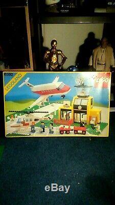 Lego Vintage 6392 Airport, Original Box, Original Instructions, 1985