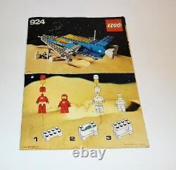 Lego Vintage Classic Space set 924/487 Transporter with Original Box