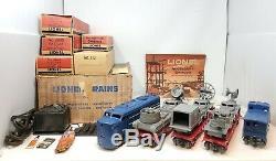 Lionel Vintage Postwar 1591 U. S. Marine Corps Military set With Original Boxes