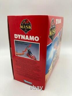M. A. S. K Dynamo Vehicle & Figures Boxed Sealed Vintage MASK 1980s MISB Kenner Toy