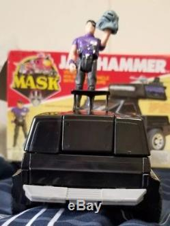 M. A. S. K. Jackhammer Cliff Dagger Kenner MASK 1985 Vintage Box Vehicle Figure PIX