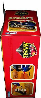 M. A. S. K. MASK Kenner Bullet Vintage 1986 Collectible MISB NEW! AFA IT