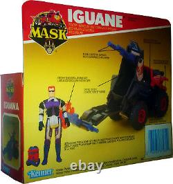 M. A. S. K. MASK Kenner Iguana Vintage 1986 Collectible MISB New! AFA IT