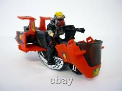 M. A. S. K. VAMPIRE withFLOYD MALLOY Vintage Figure Vehicle COMPLETE withBOX 1986