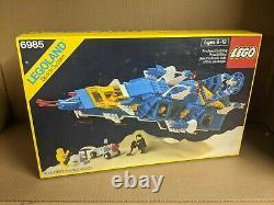 MISB Sealed New Lego Vintage 1986 Classic Space Cosmic Fleet Voyager 6985 NIB