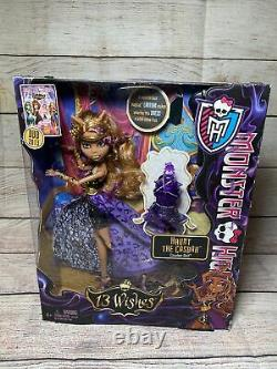 MONSTER HIGH 13 Wishes Haunt the Casbah CLAWDEEN WOLF New in Box 2012 SHIPS FREE