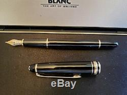 MONT BLANC MEISTERSTUCK 14K NIB #4810 Vintage FOUNTAIN PEN withBox & MB Ink