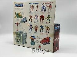 MOTU Battle Cat Masters of the Universe vintage He-Man Origins Box MOTUC Lot