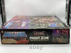 MOTU Fright Zone Masters of the Universe vintage He-Man Complete Box Lot MOTUC
