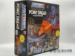 MOTU Point Dread He-man Masters of the Universe MOTUC Vintage Complete Box MIB