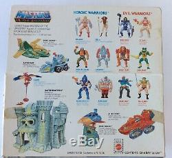 MOTU Vintage BATTLE CAT Figure Complete +Box Masters of the Universe 1982 Mattel