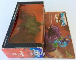 MOTU Vintage PANTHOR Figure Complete w Box Masters of the Universe 1982 Mattel