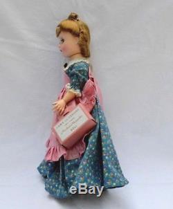 Madame Alexander Vintage-hard-plastic-little-women Meg Doll W Box & -curler-box