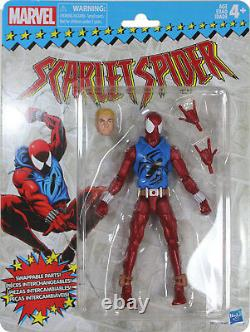 Marvel Legends Vintage Series SCARLET SPIDER ACTION FIGURE Hasbro Retro