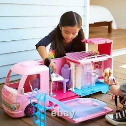 Mattel Barbie Dream Camper Pink RV New in box