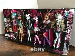 Mattel Monster High Original Ghouls Collection Set Of 6 Dolls New In Box
